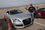 Tom Reynolds with his Audi TT
