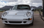 Bill Muir's delightful 993 C2S. The only air-cooled Porsche on this trip.