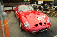 A Ferrari 250 GTO being raced. Worth about $25 million!