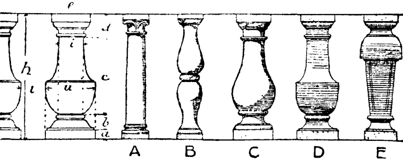 Classical Balusters